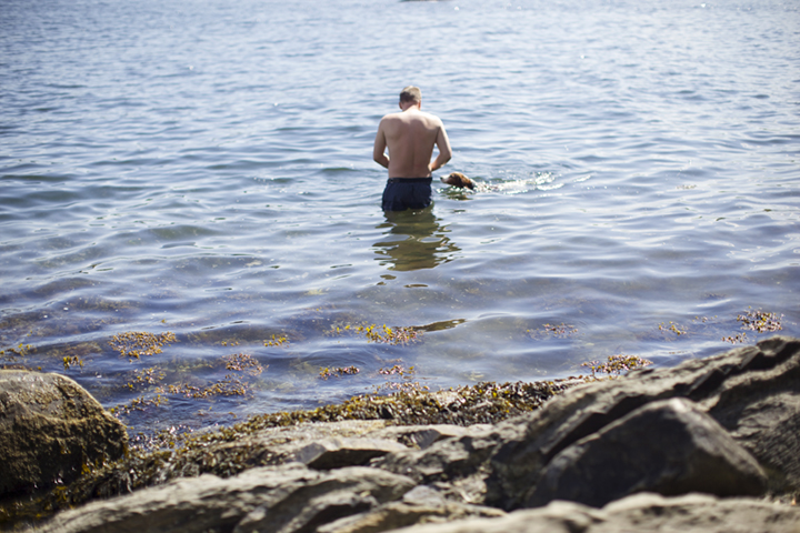 søndagssvømming